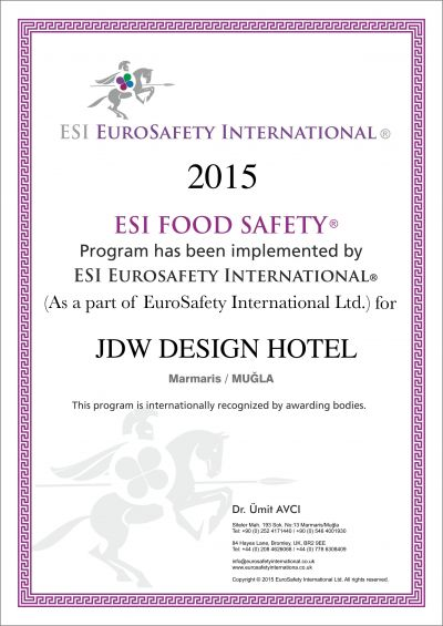 ESI FOOD AND SAFETY