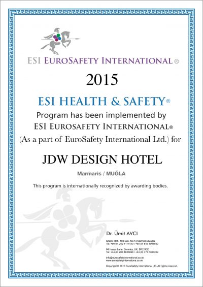 ESI HEALT AND SAFETY